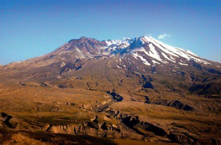 Вулканът Св. Елена в Америка
