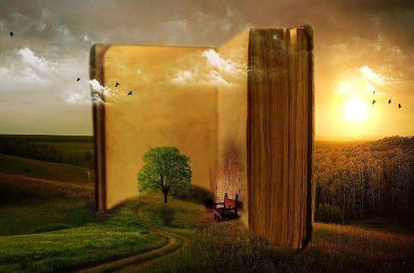 Вулкани в литературата