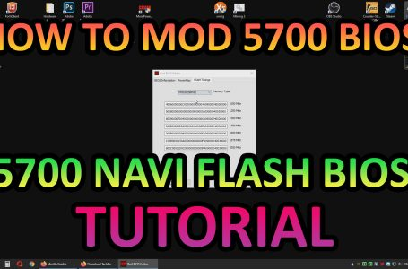 How to mod and flash Navi 5700's BIOS (Tutorial)