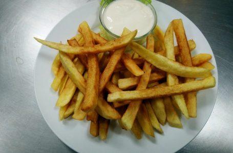 Пържени картофи с варене