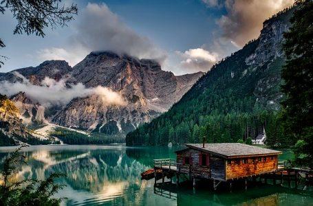 La vallée d'Aoste, Italie