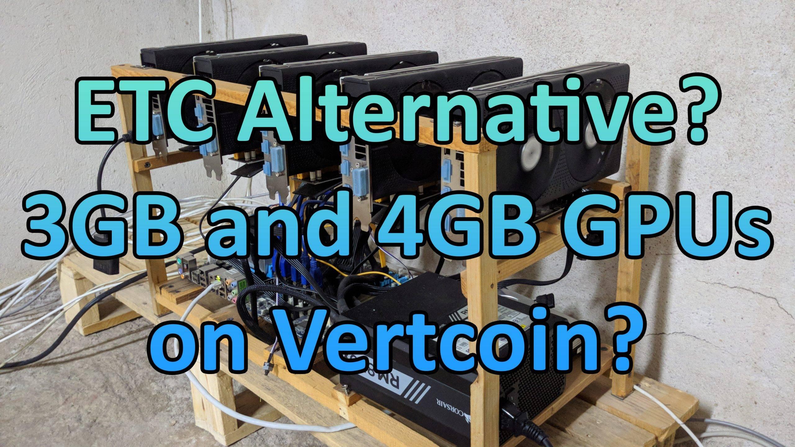 Vertcoin на 3GB и 4GB видеокарти?