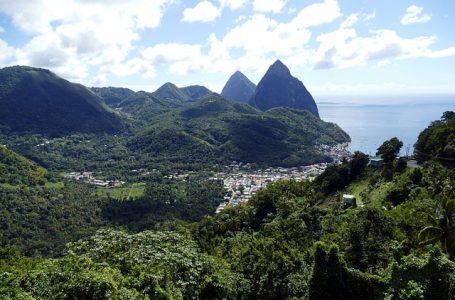 L'île Sainte- Lucie