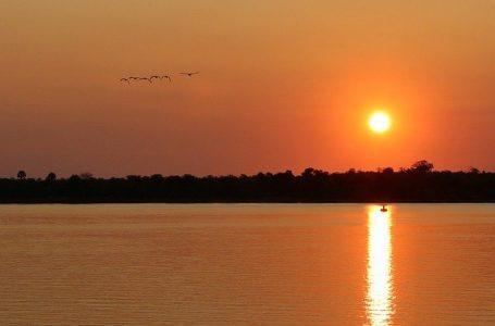 Le fleuve Zambèse, Afrique