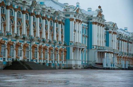 L'Ermitage à Saint- Pétersbourg, Russie